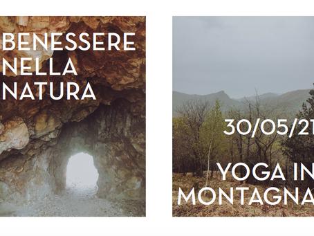 Benessere nella natura - Yoga in montagna - 30/05/21