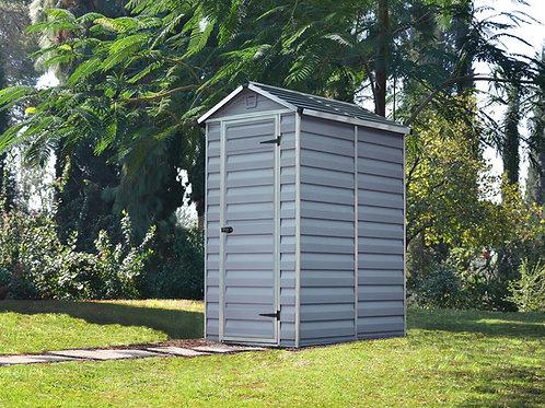 מחסן קטן לגינה Skylight, אפור- 1.2x1.8 מטר