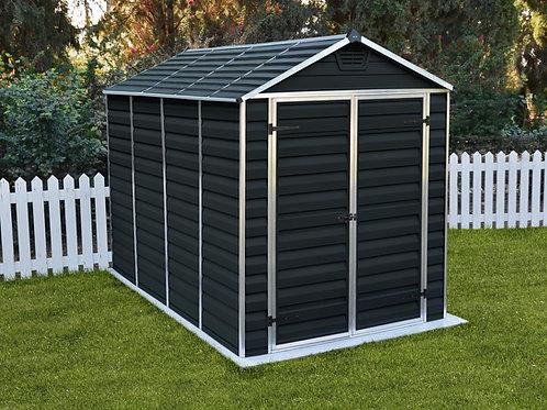 מחסן לגינה Skylight, אפור מידנייט- 1.9X3 מטר