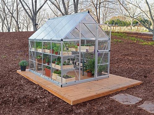 חממה לגינה הייבריד 6*8