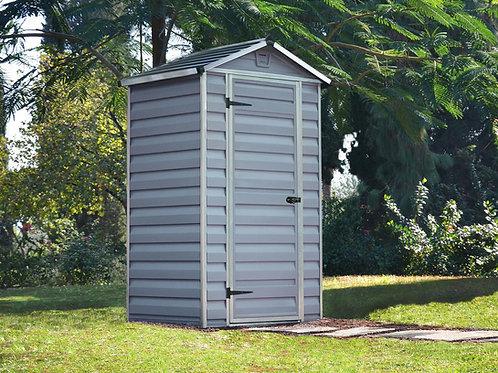 מחסן קטן לגינה Skylight, אפור- 1.2x0.9 מטר
