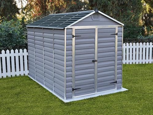 מחסן לגינה Skylight, אפור- 1.9x3 מטר