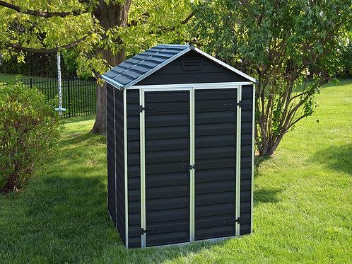 מחסן לגינה Skylight, אפור מידנייט- 1.9x1.5 מטר