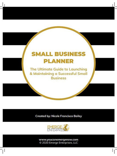 Small Business Planner & Ultimate Business Development Guide