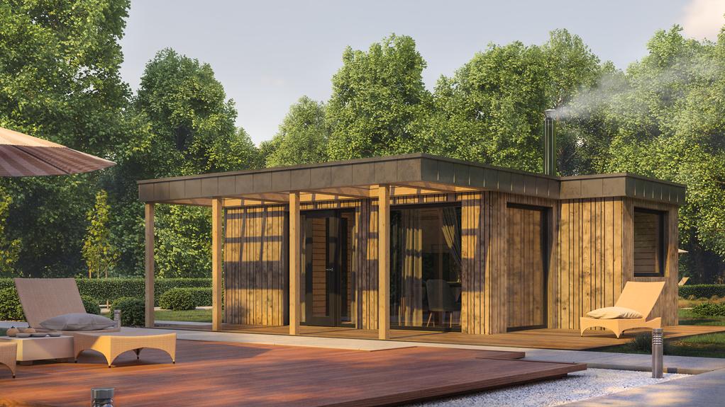 Модульный дом визуализация