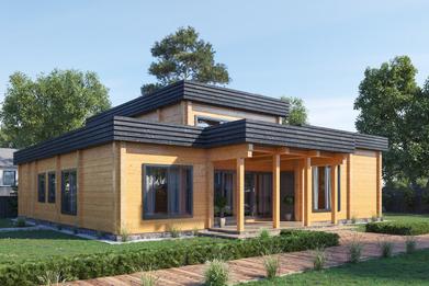 Проект дома в 3D