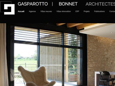 Création site web Agence d'Architecture