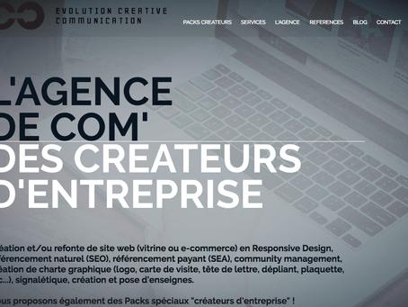 ECC, l'agence de Com' des créateurs d'entreprise