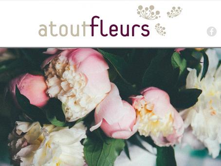 Refonte du site web d'Atout Fleurs