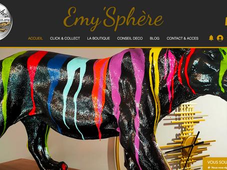 Création du site web d'Emy'Sphère à Beaumont de Lomagne