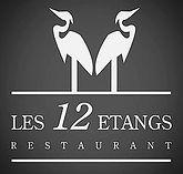 creation logo restaurant les 12 étangs