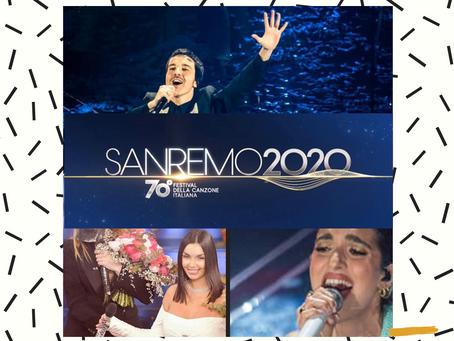 Sanremo 2020: la classifica dei brani più trasmessi in radio