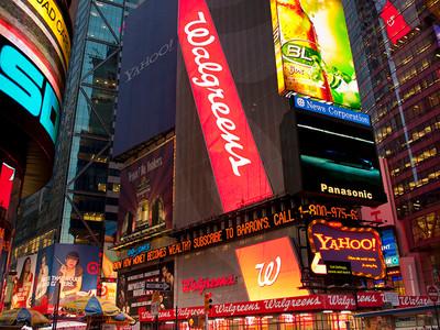 Walgreens Times Square