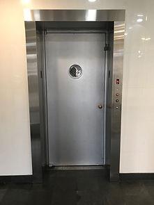 Rego Park Lobby Elevator Swing Entrance