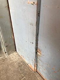 Damaged Elevator Doors