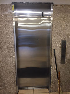 Single Speed left hand elevator slide door