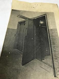 Slide Swing Freight Elevator Door