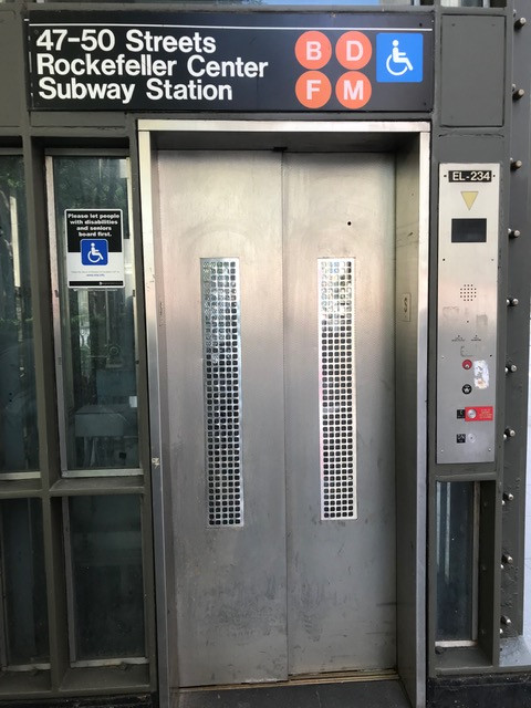 MTA Subway Elevator Entrance