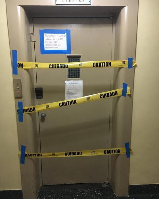 Elevator shut down?