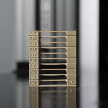 PING 3D Printer  3D列印線材溫度最佳化!!!