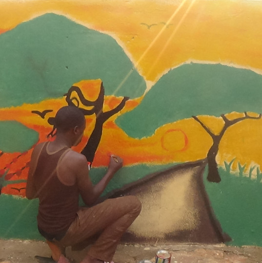 Johns mural