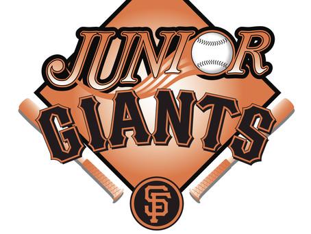 Junior Giants & the Bookmobile