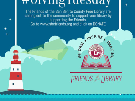 Support the Library on #GivingTuesday