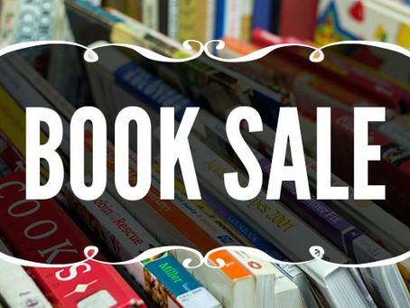 Book Sale March 8th