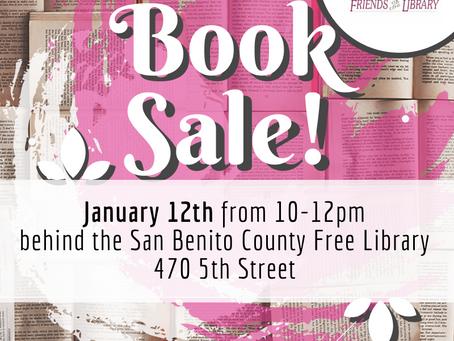 January 12th Booksale!