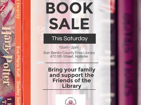 Book Sale this Saturday