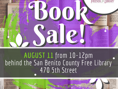 August Book Sale!