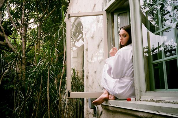 Teja at the Window /01