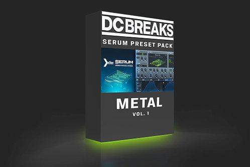 'Metal' DnB Serum Presets