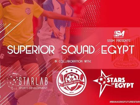 Strategic partnership with Superior Squad Sports Management
