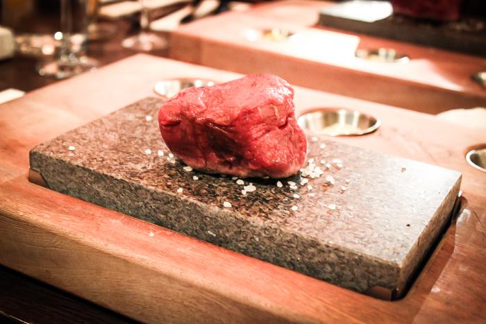Taste on a stone at Apartt