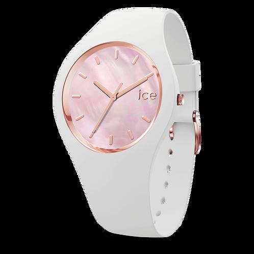 Montre Ice Watch Pearl White Pink Medium