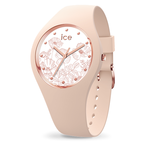 Montre Ice Watch Flower Spring Nude Small