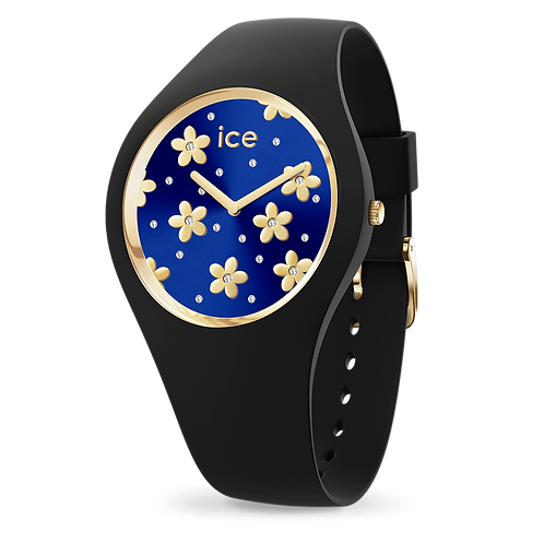 Montre Ice Watch Flower Precious Deep Blue Medium