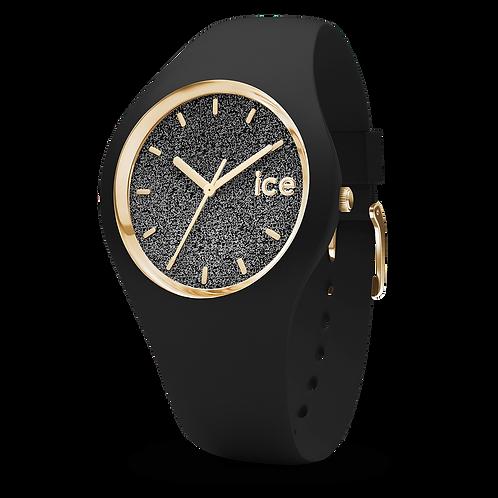 Montre Ice Watch Glitter Black Small