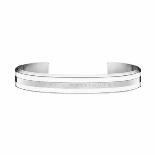 Daniel Wellington Classic Bracelet Acier Satin Blanc 166 mm