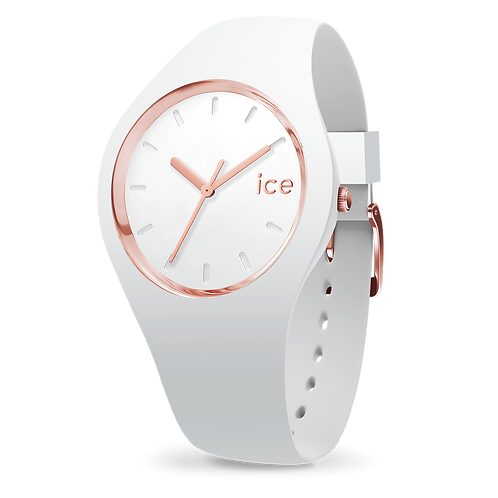 Montre Ice Watch Glam White Rose Gold Small