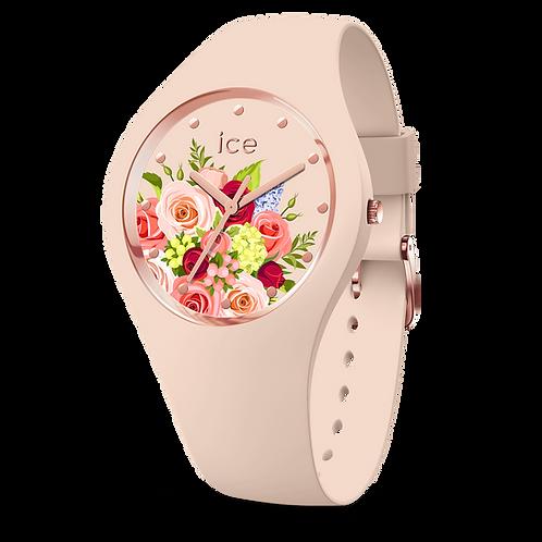 Montre Ice Watch Flower Pink Bouquet Medium