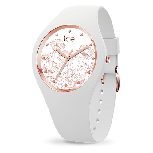 Montre Ice Watch Flower Spring White Small