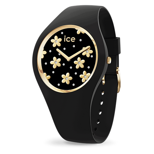 Montre Ice Watch Flower Precious Black Small