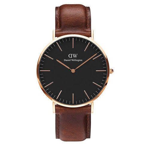 Daniel Wellington Classic St Mawes 40 mm Black