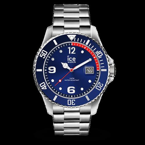 Montre Ice Watch Steel Blue Silver Medium
