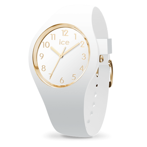 Montre Ice Watch Glam White Gold Numbers Small
