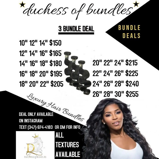 3 Bundle Deal