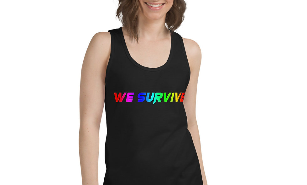 We Survive LGBTQIA classic tank top (unisex)