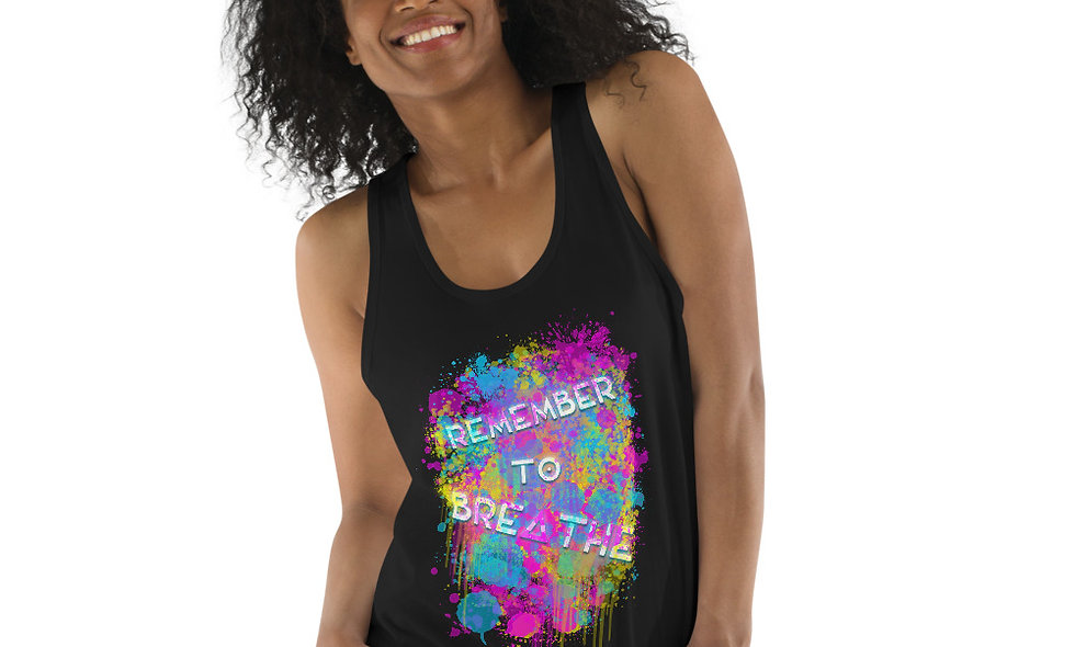 Remember To Breathe tank top (unisex)